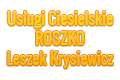 Uslugi Ciesielskie ROSZKO Leszek Krysiewicz